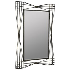 gold metal framed mirror - Metal Mirror Frame