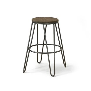 Gilland Industrial 26 Bar Stool (Set of 2) by Gracie Oaks