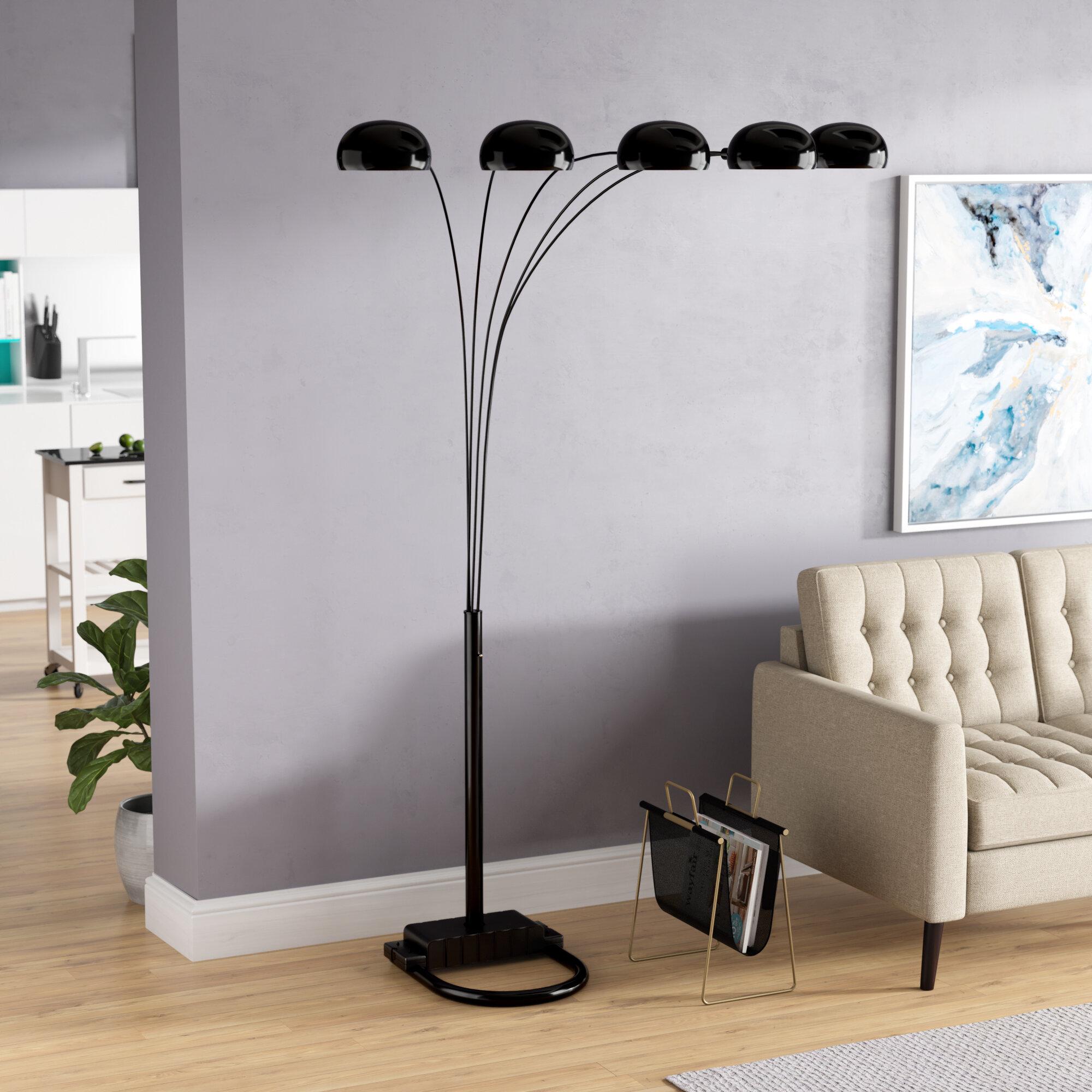 """Kaylie 5"""" Tree Floor Lamp"""