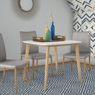 Eppinger Modern Dining Table Ebern Designs