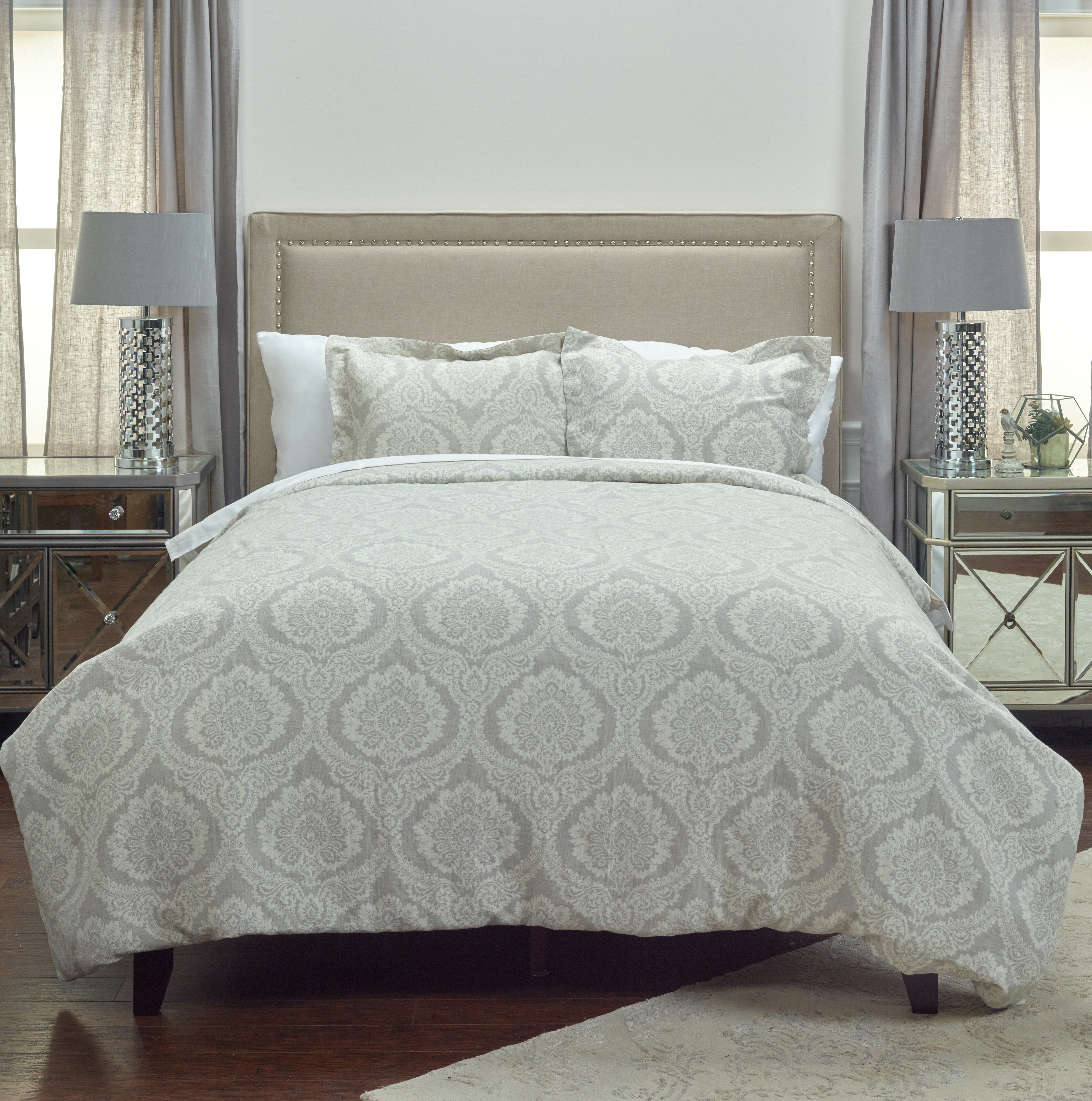 Aziz Single Reversible Duvet Cover Birch Lane