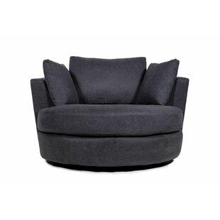 Auryana Swivel Barrel Chair