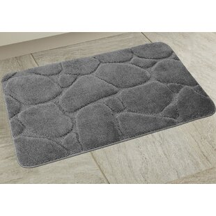 Elegant River Rock Bath Rug