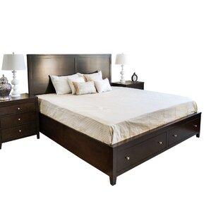 Oneill Storage Panel 3 Piece Bedroom Set