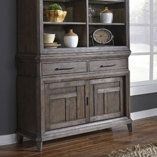 Vanwormer Sliding Door Buffet Table Gracie Oaks