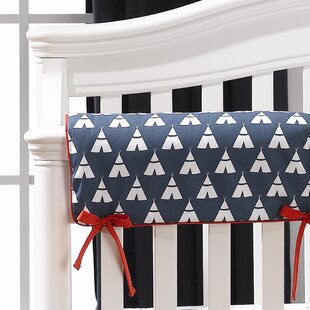 Price comparison Teepee Crib Rail Guard Cover ByLiz and Roo Fine Baby Bedding