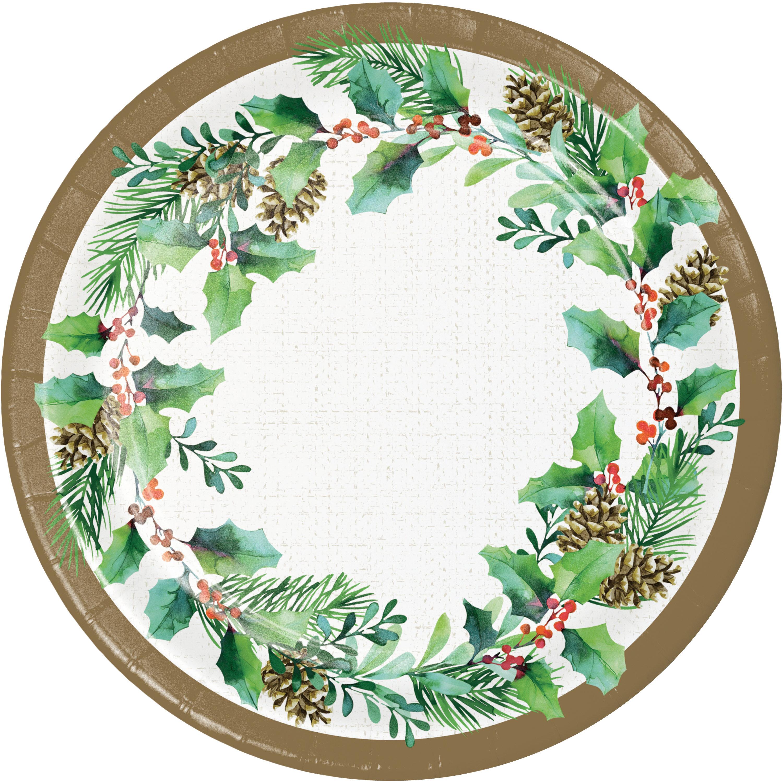 Creative Converting Holly Heavy Weight Paper Disposable Dessert Plate Wayfair