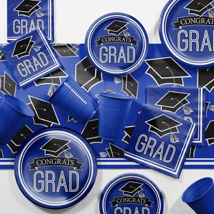 Graduation School Party Paper/Plastic Supplies Kit