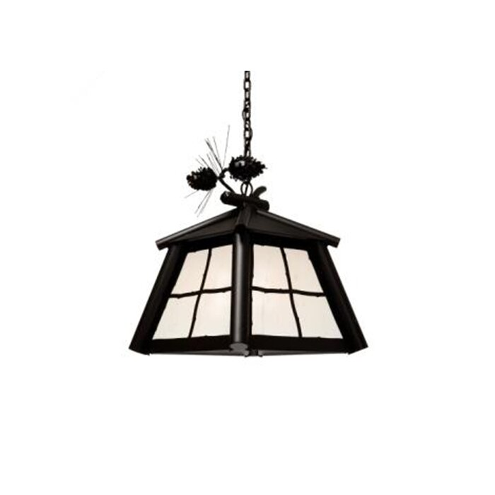 Saranac 1 Light Outdoor Hanging Lantern