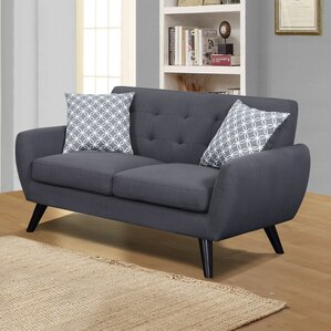 Dearman Loveseat by Mercury Row