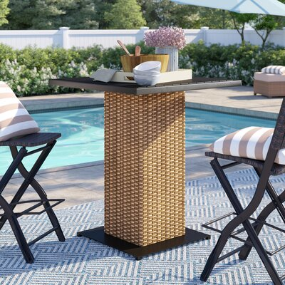 Waterbury Bar Table by Sol 72 Outdoor Coupon