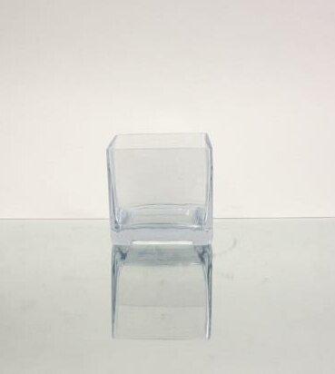 Wgvinternational Square Cube Vase Wayfair