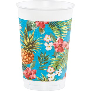 Aloha Plastic Disposable Cup (Set of 24)