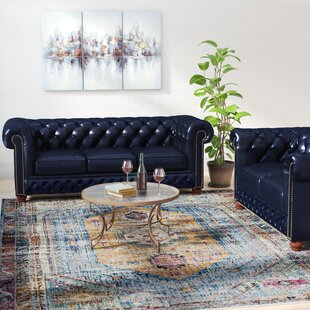 Best Forsyth Leather 2 Piece Living Room Set by Trent Austin Design Reviews (2019) & Buyer's Guide