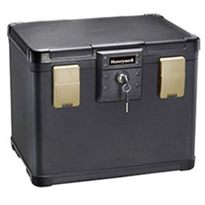 Review 0.6 CuFt 30 Minute Waterproof Fire File Molded Chest by Honeywell