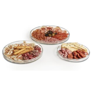 Urban Story 3 Piece Platter Set