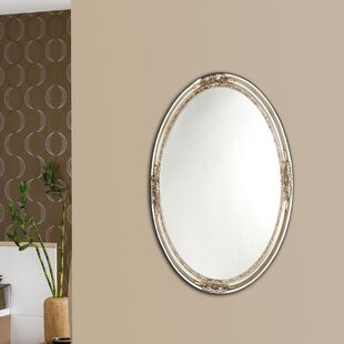 Compare prices Quon Framed Wall Mirror By Astoria Grand