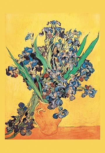 Buyenlarge Vase Avec Irises By Vincent Van Gogh Painting Print