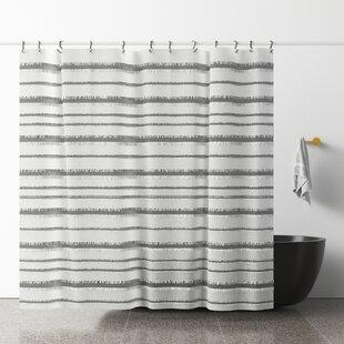 Modern Striped Shower Curtains Allmodern