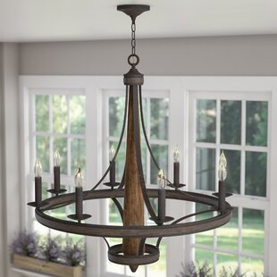 Jonah 8-Light Candle-Style Chandelier by Laurel Foundry Modern Farmhouse