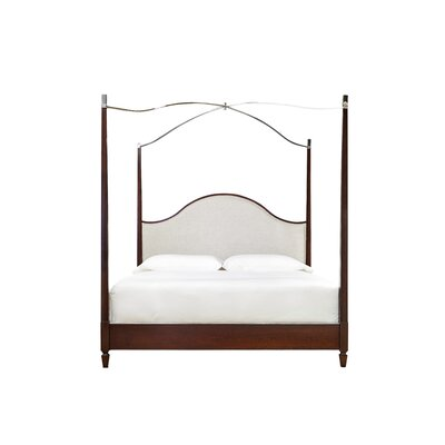 Bart Upholstered Canopy Bed Darby Home Co