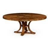 Cosmo Hyedua Solid Wood Dining Table by Jonathan Charles Fine Furniture