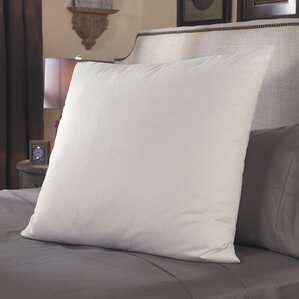 Restful Nights? Square Fiber European Pillow by Restful Nights