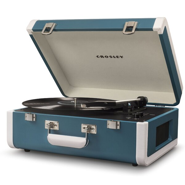 Crosley Electronics Portfolio Portable Turntable With Bluetooth | Wayfair