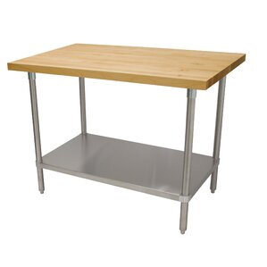 Prep Tale with Wood Top by Advance Tabco Top Reviews