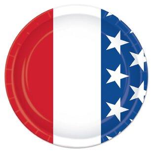 Patriotic Dinner Plate (Set of 8)  sc 1 st  Wayfair & Dinner Plates And Bowl Sets   Wayfair