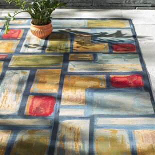 Aroma Blue Indoor/Outdoor Area Rug