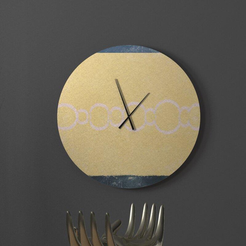 Ebern Designs Plotinus Wall Clock Wayfair