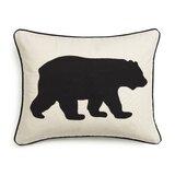 Bear Rectangular Cotton Pillow Cover & Insert