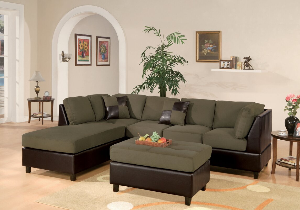 Corporate Reversible Sectional : plush sectional sofa - Sectionals, Sofas & Couches