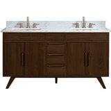Davey 61 Double Bathroom Vanity Set by George Oliver