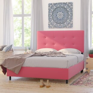 Montreal Upholstered Panel Bed by Mistana New Design