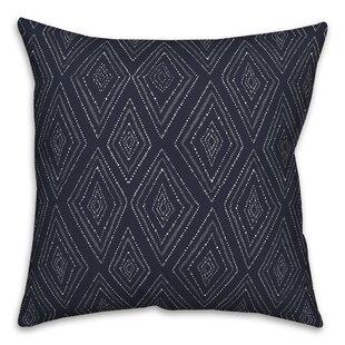 Velasquez Tribal Diamond Throw Pillow
