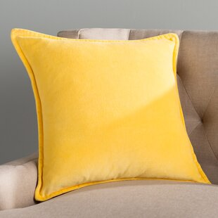 Yellow Gold Throw Pillows.22 Square Yellow And Gold Throw Pillows You Ll Love Wayfair