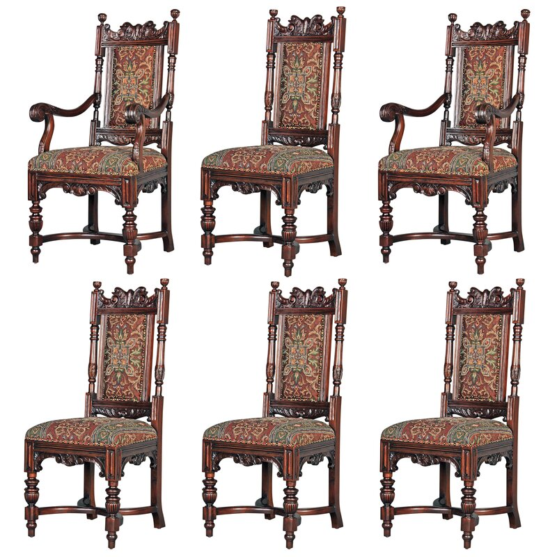 Set 6 Edwardian Antique Solid Carved Mahogany Upholstered Dining Kitchen Chairs Quality First Antique Furniture Antiques