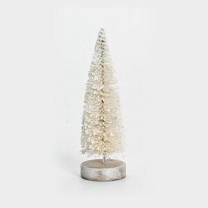 winter tree decor - Glass Christmas Trees