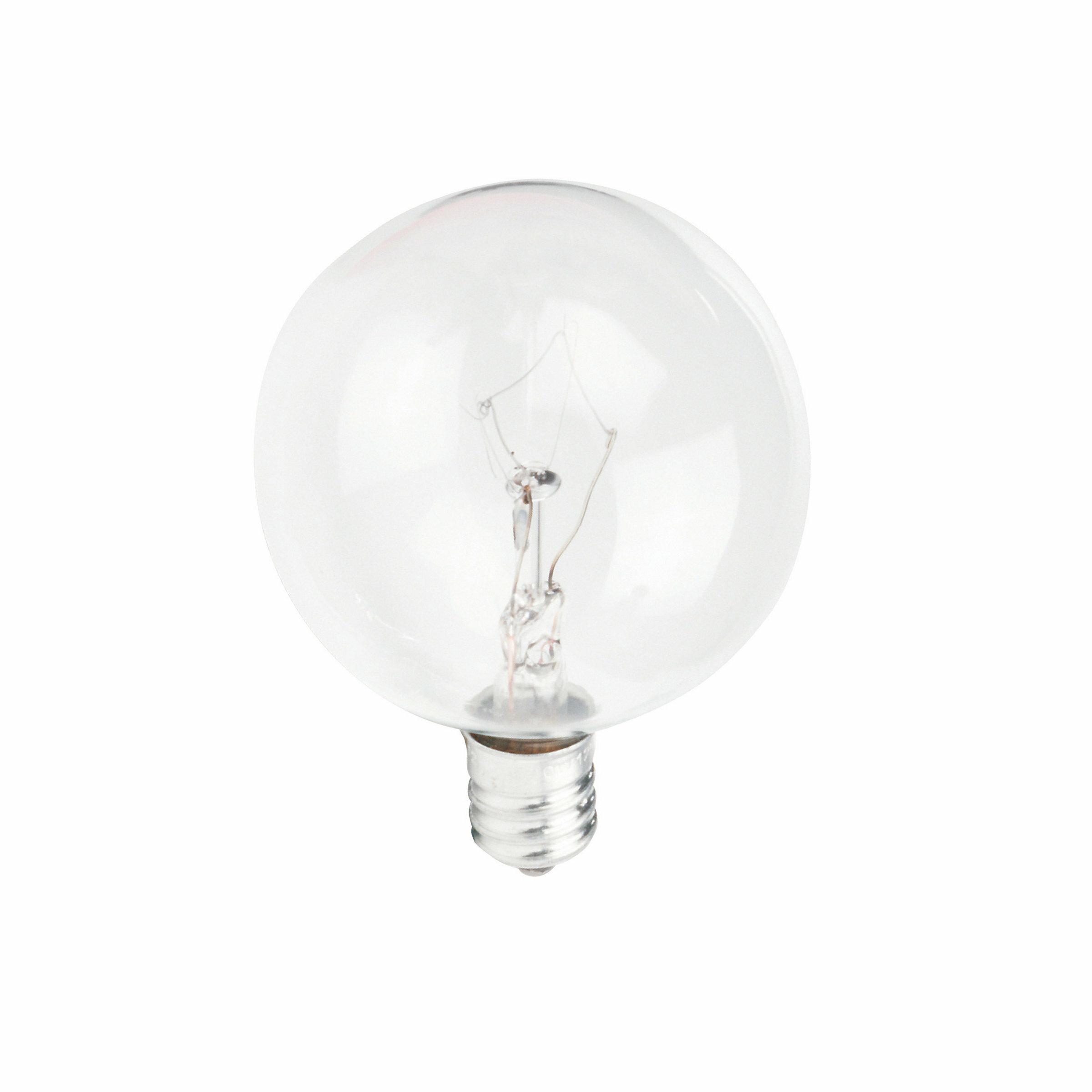 Philips 40 Watt G16 5 Incandescent Dimmable Light Bulb Warm White 2700k E12 Candelabra Base Reviews Wayfair