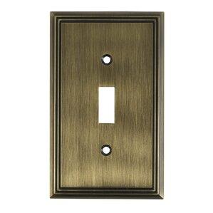 single toggle switch plate