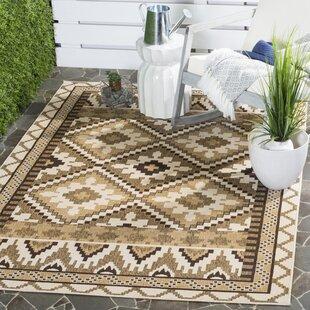 Rangely Brown Indoor/Outdoor Area Rug
