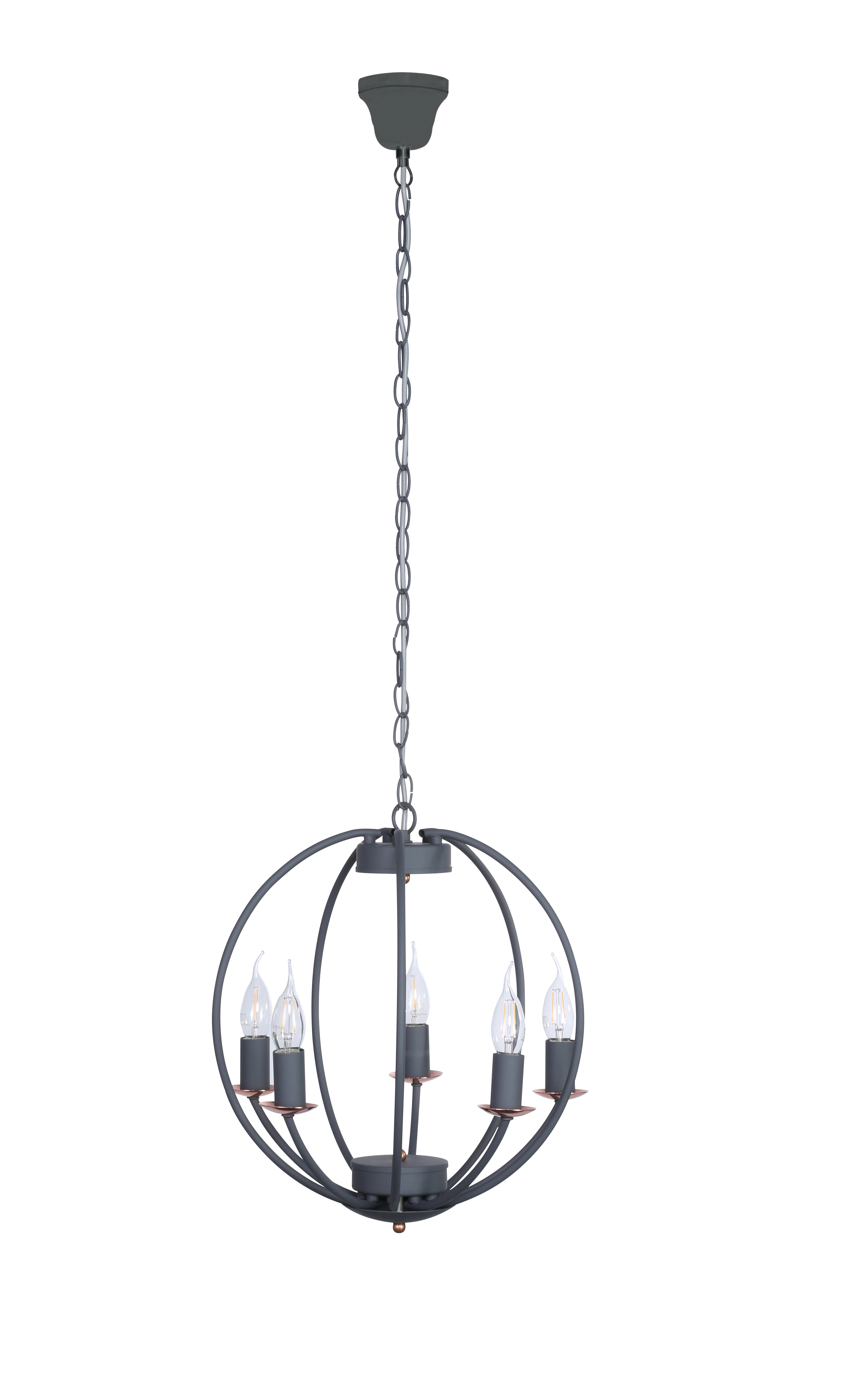 light led multi glass iceball drop chrome shades with pendant
