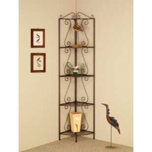 Bensley Corner Unit Bookcase by Fleur De Lis Living Savings