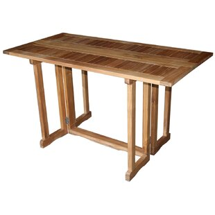 Hatteras Folding Teak Dining Table