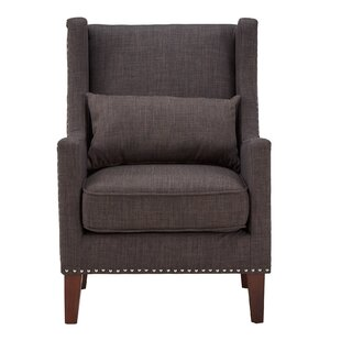 Oneill Wingback Chair by Andover Mills
