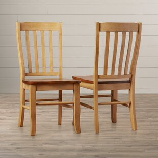 Courtdale Solid Wood Dining Chair (Set of 2)
