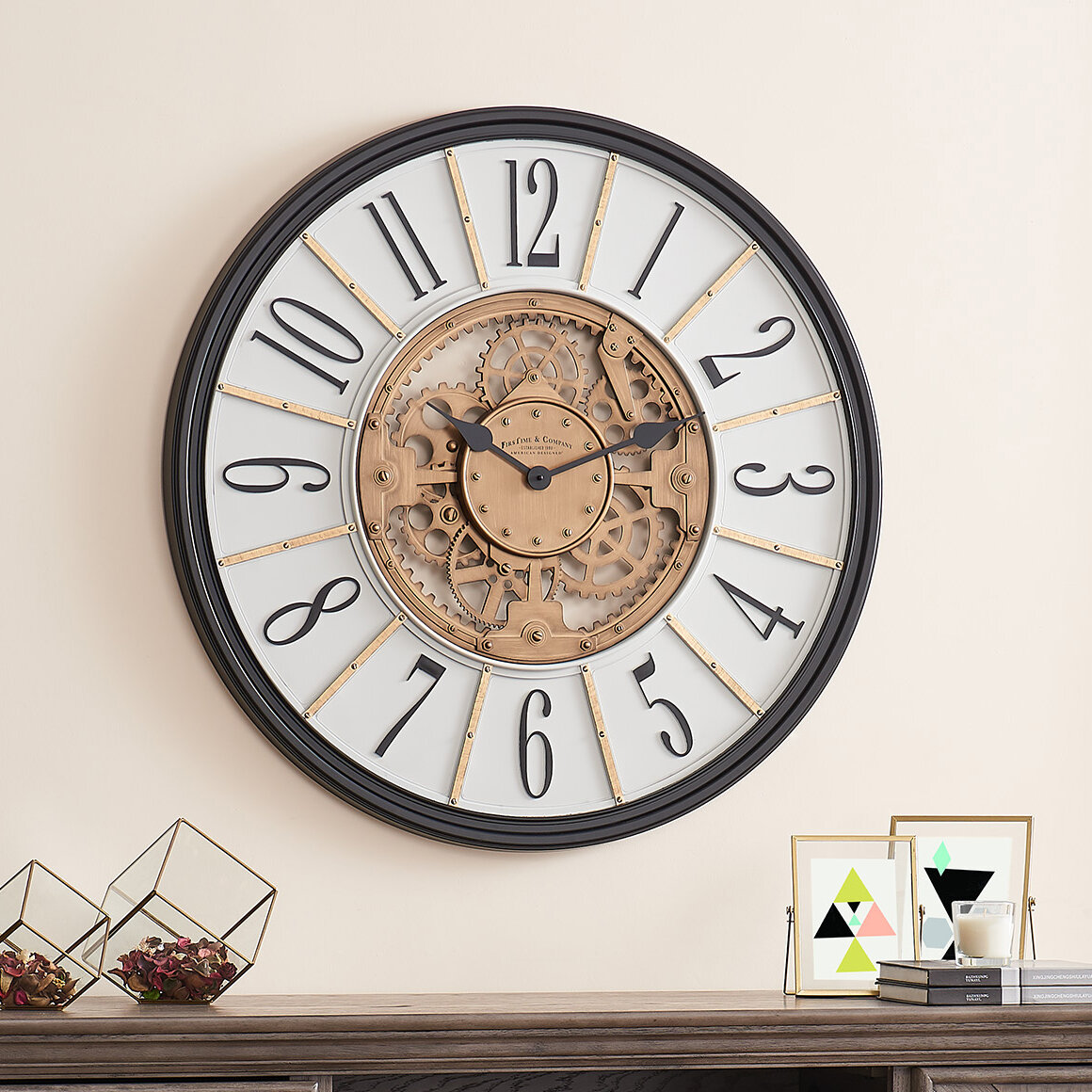 Analog Brass Wall Clocks You Ll Love In 2021 Wayfair