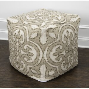 Carlton Square Ottoman by Ophelia & Co.